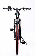 Элитный велосипед электрический PORSCHE BRAND BIKE CARBON с литими ободами мощность двигателя 500 ВТ Красный