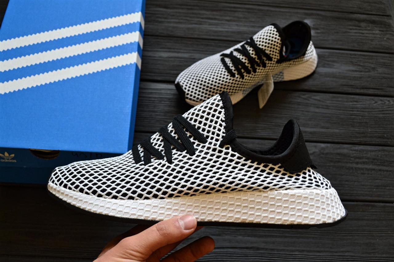 Мужские кроссовки Adidas Deerupt Runner(ТОП РЕПЛИКА ААА+), фото 1