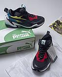 """Мужские кроссовки Puma Thunder Spectra """"Multicolored"""" (Пума Спектра) разноцветные, фото 2"""