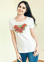 ВФ-003. Жіноча футболка вишиванка