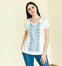 ВФ-004. Жіноча футболка вишиванка