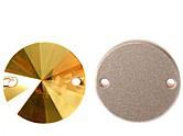 Rivoli 10mm Crystal Metallic Sunshine