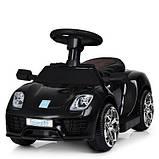 Детский толокар-электромобиль Porsche M 3592L-2, кож сиденье, фото 2