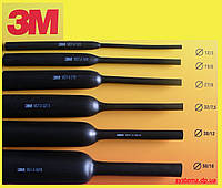 3M - Термоусаживаемые среднестенные трубки с клеевым слоем MDT-A, 12,0/3,0 мм, черный, 1 м