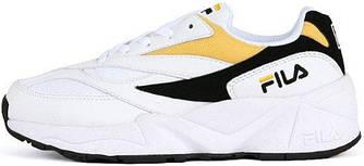 """Женские кроссовки Fila Venom """"White/Yellow/Black"""" (Фила Веном) желтые"""