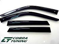 Дефлекторы окон (ветровики) Mazda 626(GE) (hatchback)(1992-1997), Cobra Tuning