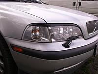Реснички (накладки фар) для Volvo S40 V40 до 2000