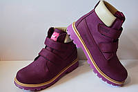 Демисезонные кожаные ботинки Tutubi для девочки, 35 (23 см)