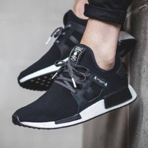 Adidas Mastermind Japan x NMD XR1 Black White (реплика)