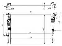 Радиатор, охлаждение двигателя NRF 53965 на RENAULT MEGANE CC (EZ0/1_)
