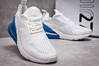 Белые мужские кроссовки Nike Air Max 270 (Найк Аэр Макс 270) весна осень 0b797bc386c