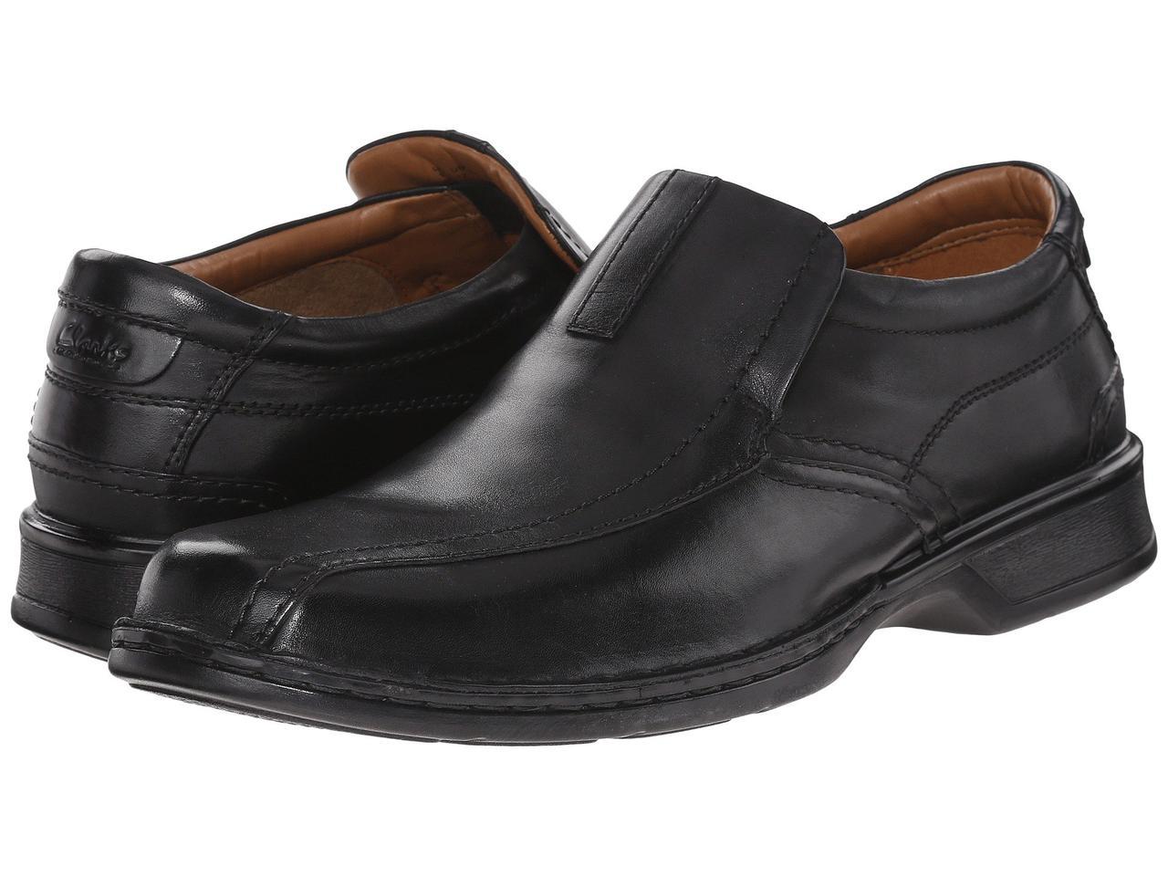 Мокасины (Оригинал) Clarks Escalade Step Black Leather