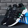 Adidas EQT Support ADV Black Green White (реплика)