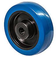 Колесо 160x50 (поліамід/еластична гума) роликовий підшипник