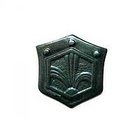 Эмблема службы радиационной, химической и бактериологической защиты (полевая, пластик)