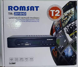 ТВ тюнер Т2 ROMSAT TR-2018HD