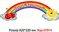 """Стенд пластиковий """"Група вишенька"""" Код-07914"""
