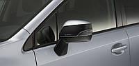 Декоративная накладка зеркала чёрная Subaru