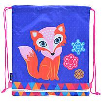 Сумка(рюкзачок - мешок) детскаядля сменной обуви для девочки Лиса (Лисенок),SB-01 Fox, smart 555236