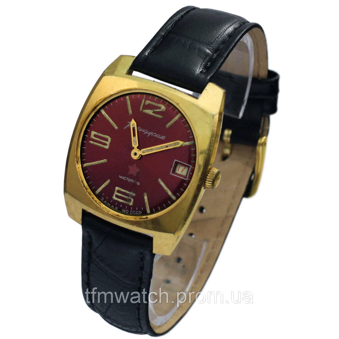 2b2ff309 Позолоченные Командирские часы СССР - Магазин старинных, винтажных и  антикварных часов TFMwatch в России