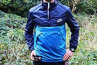Мужская ветровка  анорак  Nike Найк  (реплика)