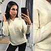 Женский вязаный свитер, в расцветках. ОС-6-0718, фото 3