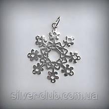 3009 Серебряный подвес Снежинка 925 пробы от производителя в Харькове