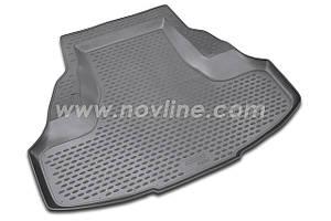 Коврик в багажник HONDA ACCORD седан с 2008-2013 , цвет:черный , производитель NovLine
