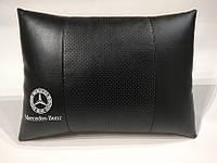 Подушка ортопедическая в автомобиль Mercedes черная