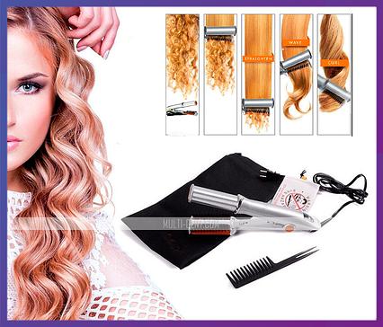 Електричні щипці для завивки (укладання) волосся Інсталятор (Instyler INOVA), фото 2