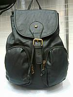 Женская сумка-рюкзак 70019 черная , фото 1