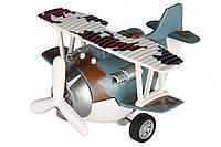 Самолет металический инерционный Same Toy Aircraft синий  SY8016AUt-4 (SY8016AUt-4)