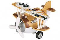 Самолет металический инерционный Same Toy Aircraft коричневый SY8016AUt-3 (SY8016AUt-3)