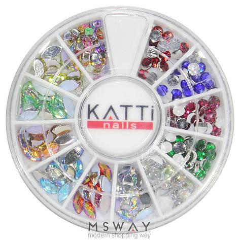 KATTi Декор в карусели 09 стразы акрил фигурные (круглые, глаз, квадрат), фото 2