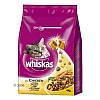 Корм Whiskas (Вискас) для взрослых кошек с курицей 4 кг