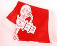 Полотенце пляжное красное MARINA YACHTING Якорь ANCHOR 150*75 см банное Турция, фото 3