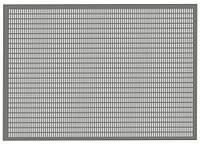Пробивные полотна с прямоугольными щелевидными отверстиями, расположенными рядами