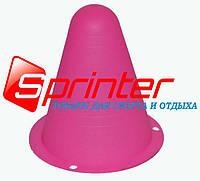 Фішка підлогова для ролерів.9см рожевий