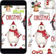 "Чехол на Xiaomi Redmi Note 5A Prime Merry Christmas ""4106c-1063-571"""