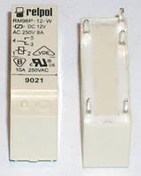 Промежуточное реле RM96 8 Ампер 1 NО , 5 V постоянки.