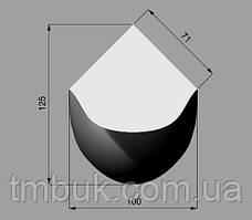 Изготовление классических гнутых ножек для стола, консоли из дерева. Форма кабриоль с двойным изгибом. 750 мм, фото 3