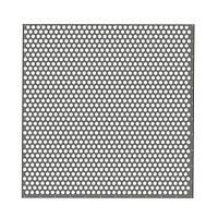 Пробивные полотна с круглыми отверстиями, расположенными по шестиграннику