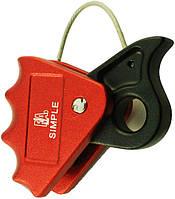 Зажим для тросса металлического Ø10-12мм First Ascent Simple