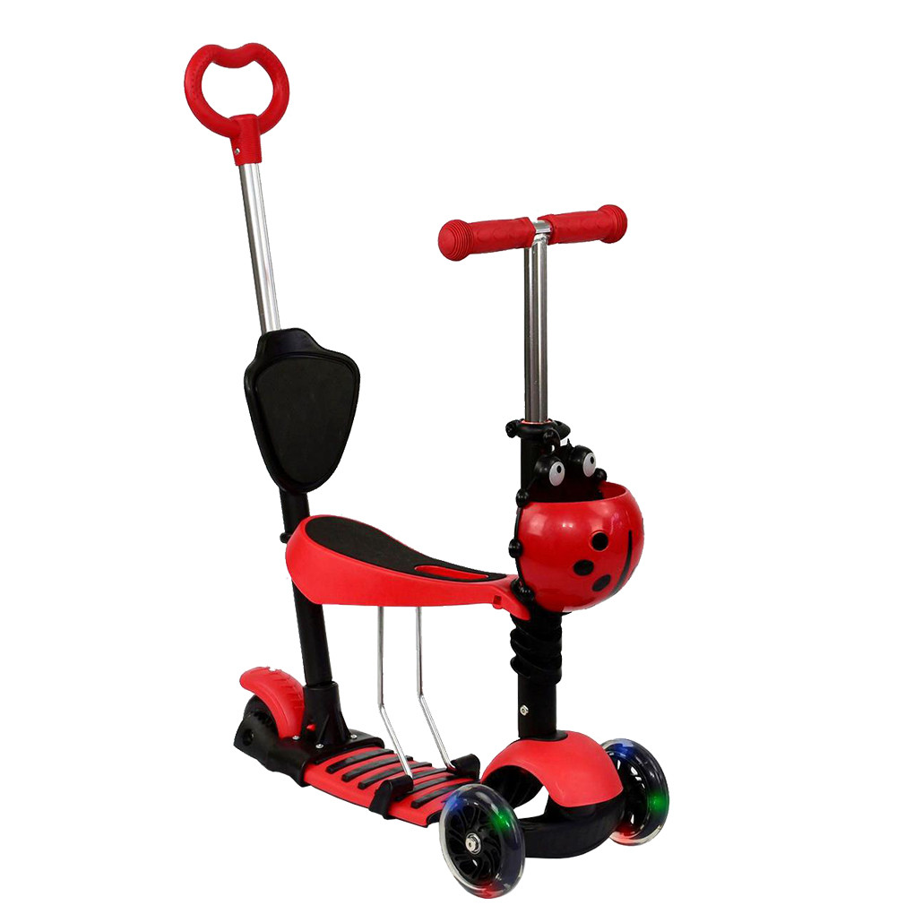 Самокат Best Scooter А 24677 - 3040 Красный Mini 65273