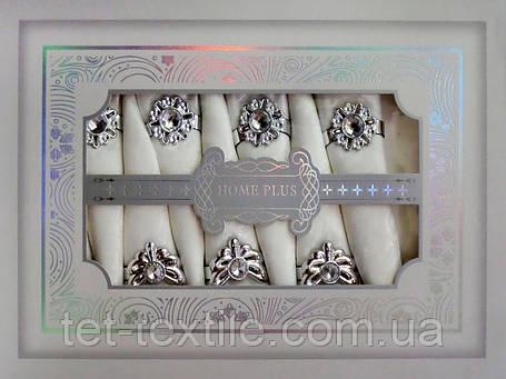 Скатерть белая Home Plus с салфетками (150x220cm.), фото 2