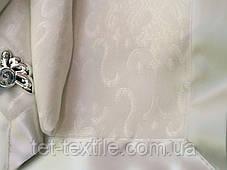 Скатерть белая Home Plus с салфетками (150x220cm.), фото 3