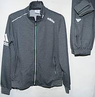 Мужской спортивный костюм трикотаж adidas (Р. M-3XL) купить оптом от производителя.доставка из Одессы(7КМ)