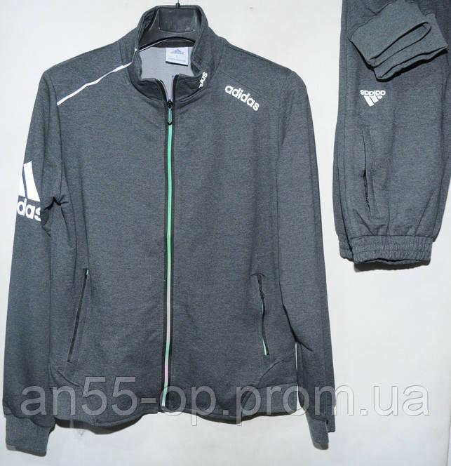 Мужской спортивный костюм трикотаж adidas (Р. M-3XL) купить оптом от  производителя 0753e2f5ef0