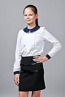 Блузка школьная «Эля» с длинным рукавом, фото 1