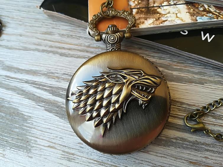 Часы Кулон Старков Игра Престолов Game of Thrones